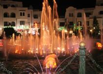 Танцующие фонтаны Эль Кантауи