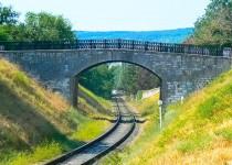 Железнодорожный мост Феодосии