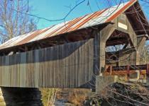 Крытый мост через Золотой ручей