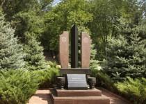 Памятник погибшим сотрудникам молдавской полиции