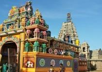 Индуистский храм Sri Pathrakali