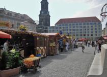 Старый рынок в Дрездене