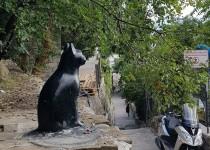 Памятник коту в Гурзуфе
