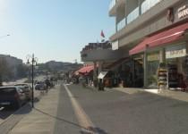Улица Сулеймана Демиреля в Кумкёе