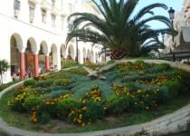Цветочные часы в Салониках