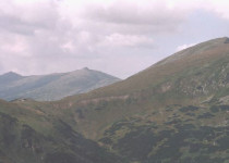 Горная вершина Хопок