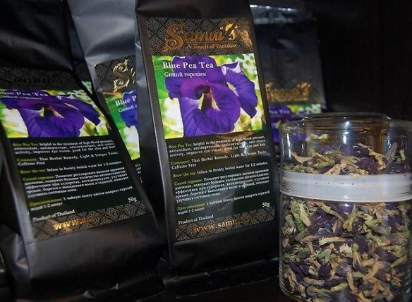 таиланд синий чай свойства