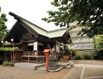 Храм Kuramae Jinja Shrine