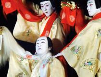 Японское кабуки в театре кабуки-дза