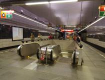 Станция пражского метрополитена Музеум