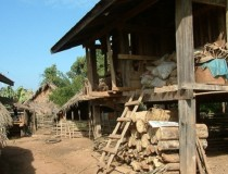 Деревня народности Мон