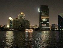 Здание Etisalat Tower в Дубаи