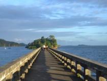 Прогулочный мост в Самане