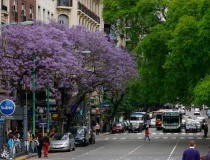 Проспект Санта-Фе в Буэнос-Айресе
