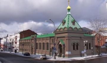 Эконом памятник Купола Долинск Мраморный крестик Белогорск