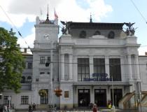 Главный железнодорожный вокзал Брно