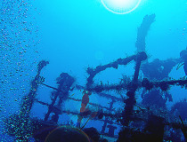 Затонувший корабль «Сент-Джордж»