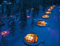 Деревня стеклянных иглу - отель Kakslauttanen