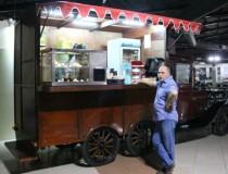 Кафе в музее классических автомобилей Шарджи