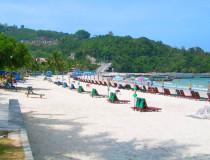 Пляж Патонг в Таиланде