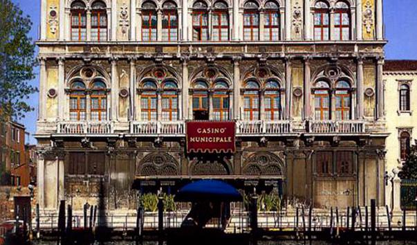 Где находится казино в венеции магаданские игровые автоматы