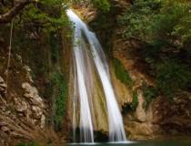 Водопады реки Неда