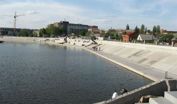 Веб камера на Набережной Рошен, Винница, Украина