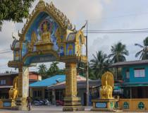 Буддийское мемориальное сооружение Kho Hua Jook