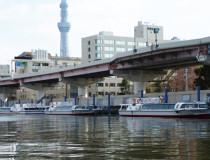 Речной вокзал Mizube Line Ryogoku Landing Fields