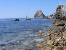 Нудистский пляж Симеиза