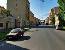 Тамбовская улица в Санкт-Петербурге
