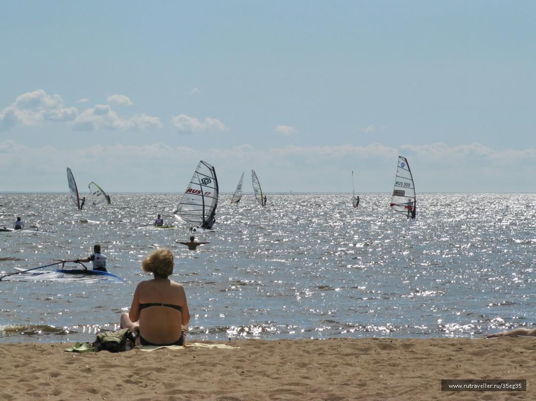 Пляж Зеленогорска