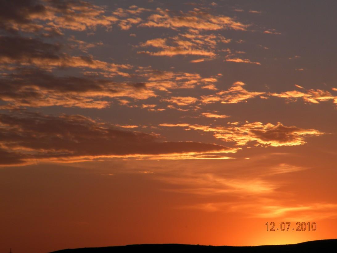 Закаты озера Чебачье