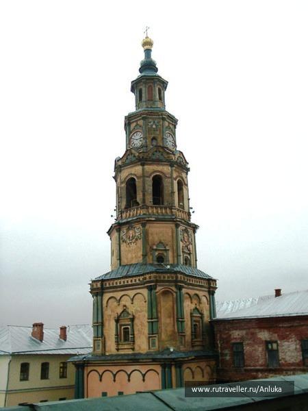 колокольня петровавловск собора