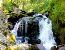 Водопад на Третьей речке