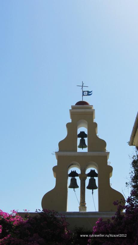 Звонница в монастыре