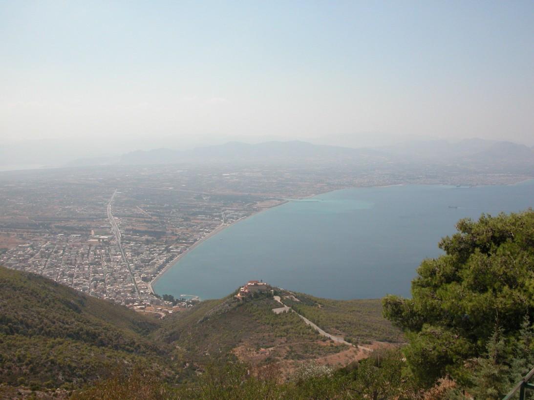 Вид с горы Геранея