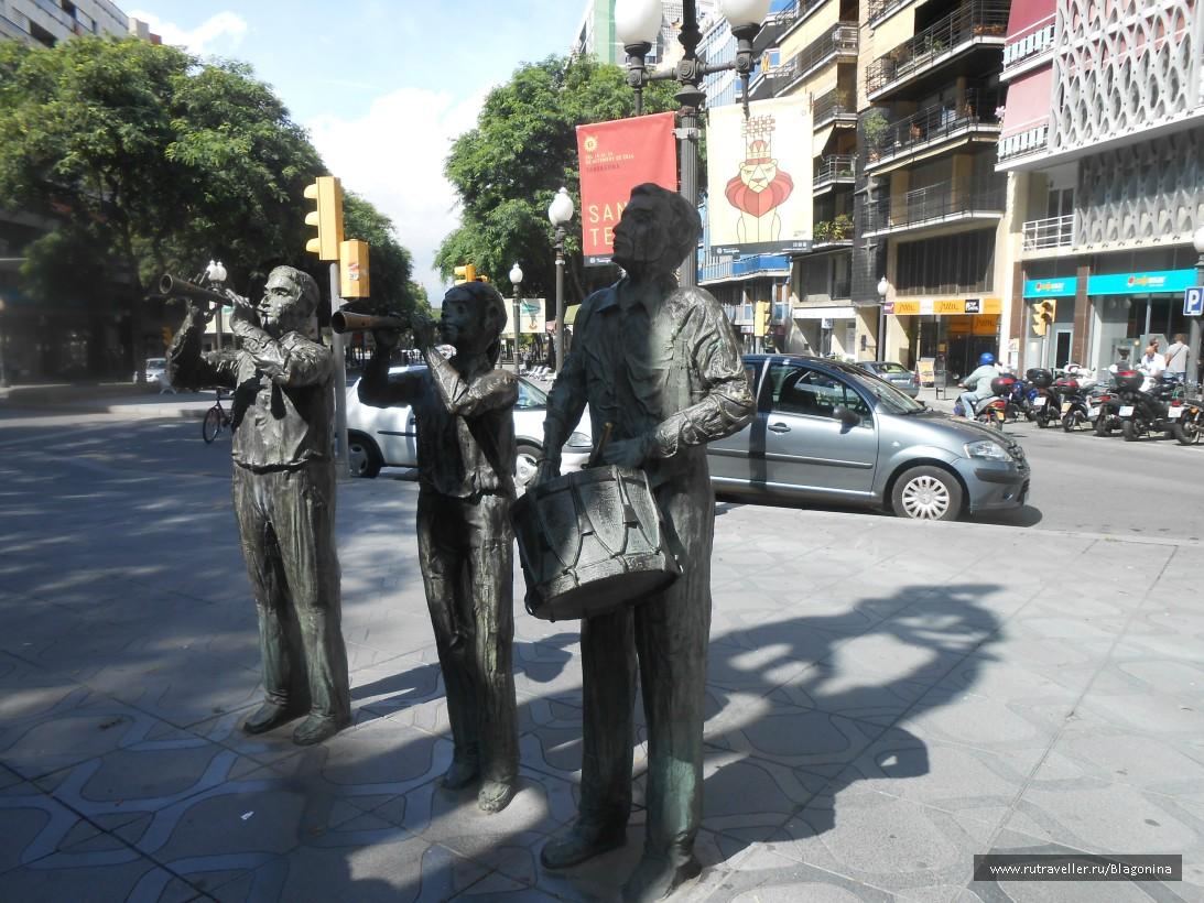Скульптура Als Castells