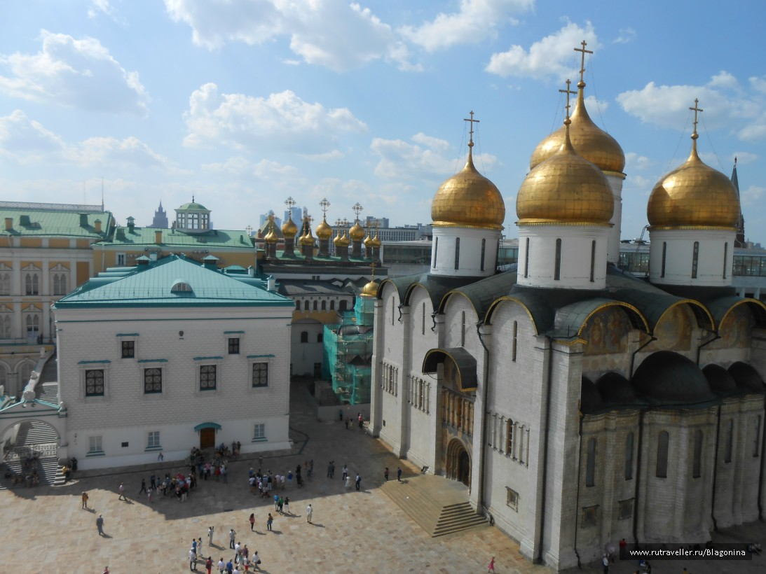 Грановитая палата и Успенский собор Кремля