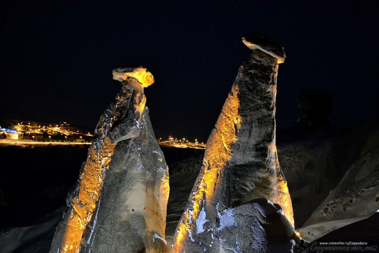 Три красавицы — ночью