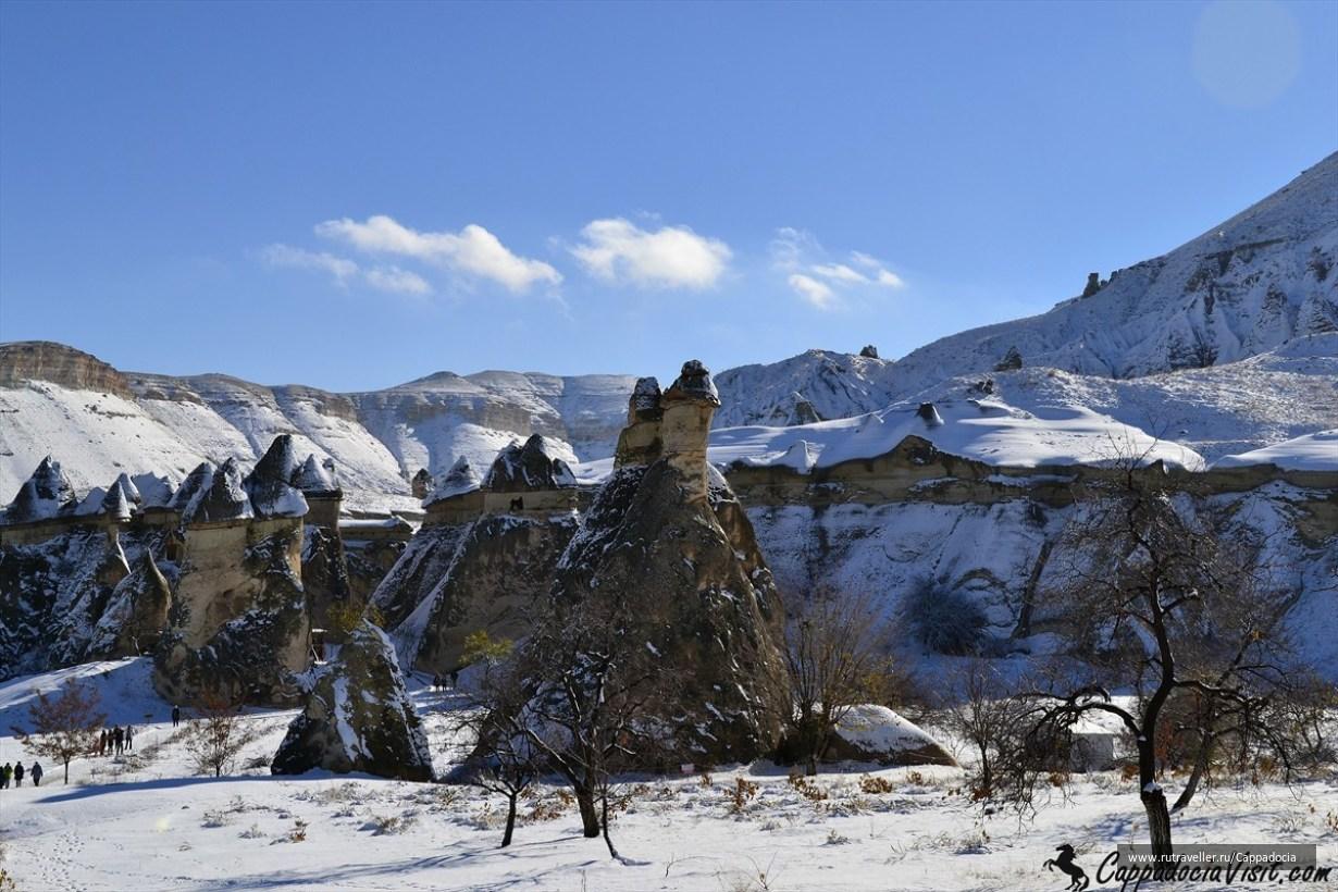 Первый снег в долине Пашабаг