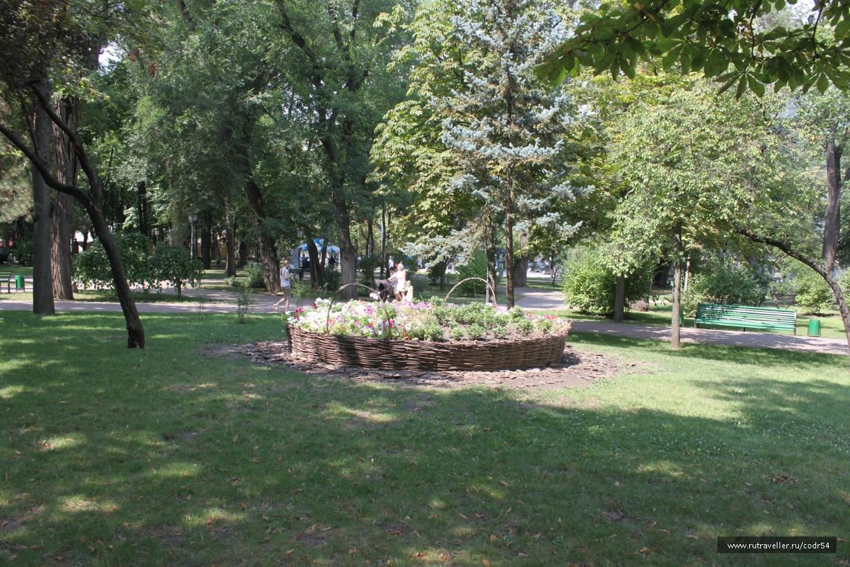 В парке Стефана Великого
