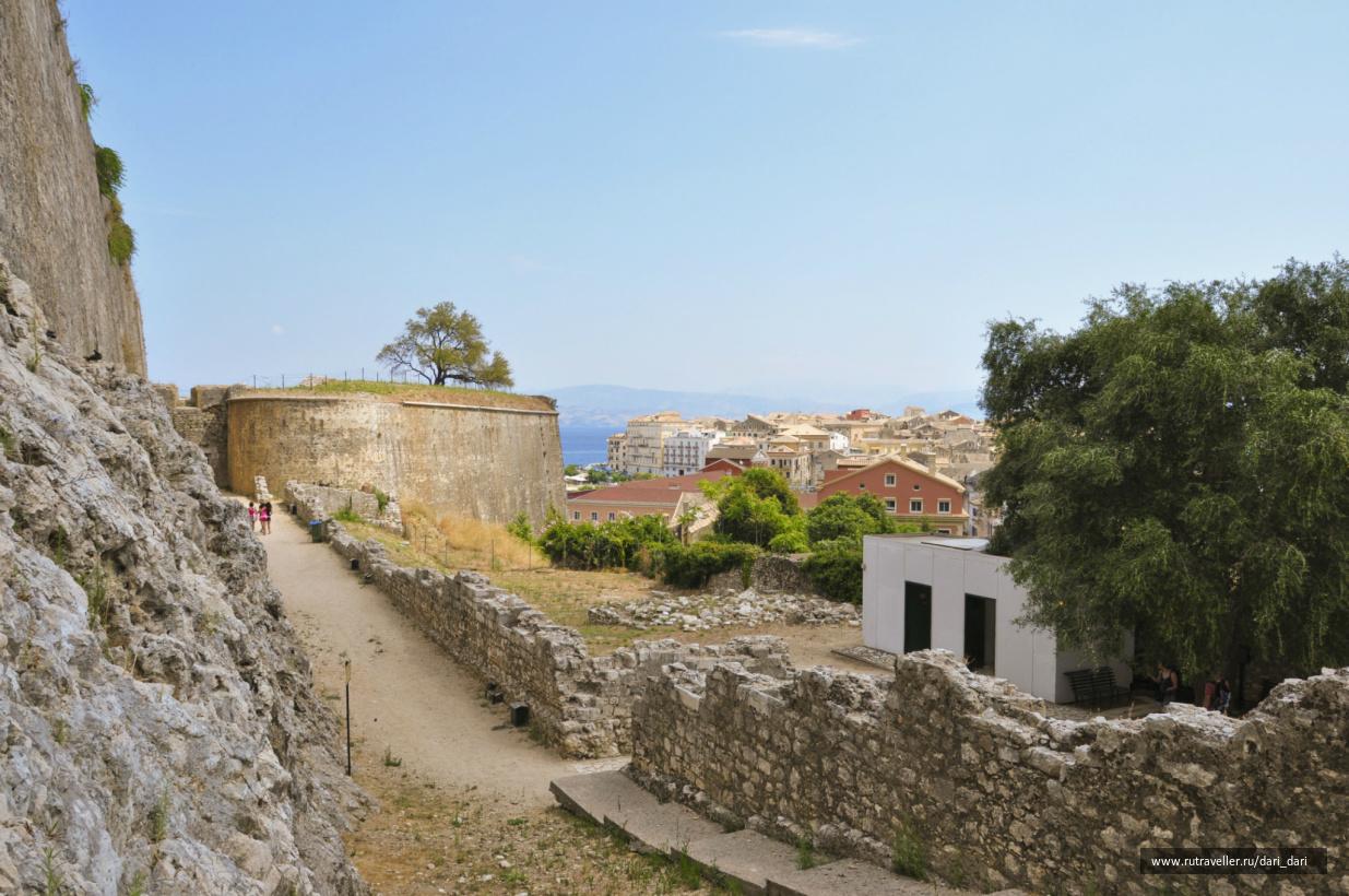 вид на город из Новой крепости