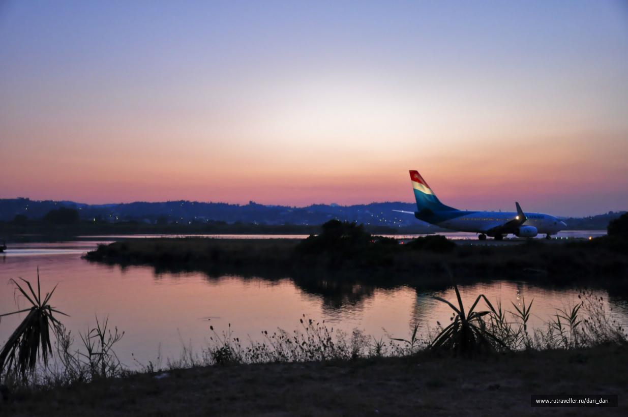 аэропорт острова Корфу