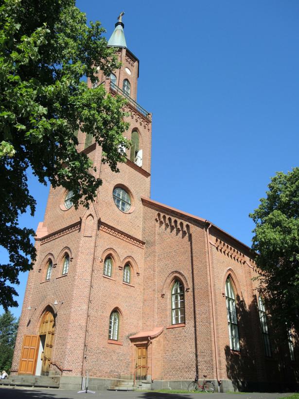 Кафедральный собор г. Савонлинна