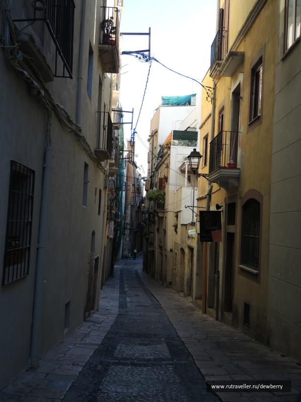 Улочки Таррагоны
