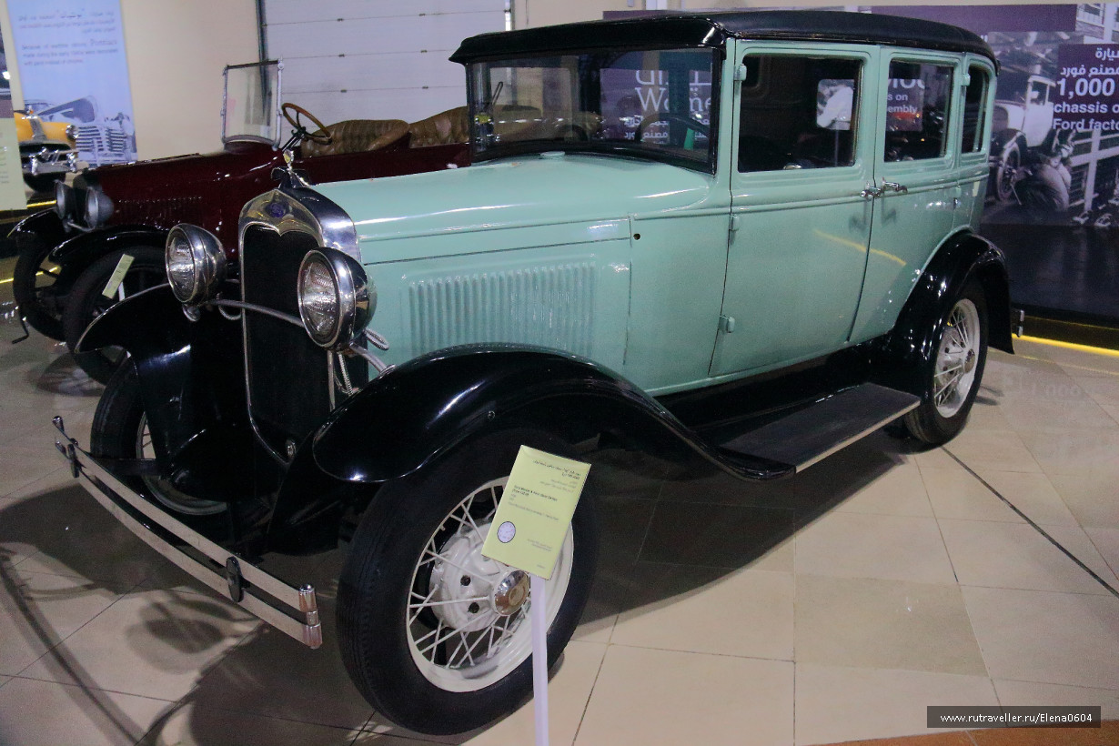 Ford Model A (Type 165 D) - 1930 год!
