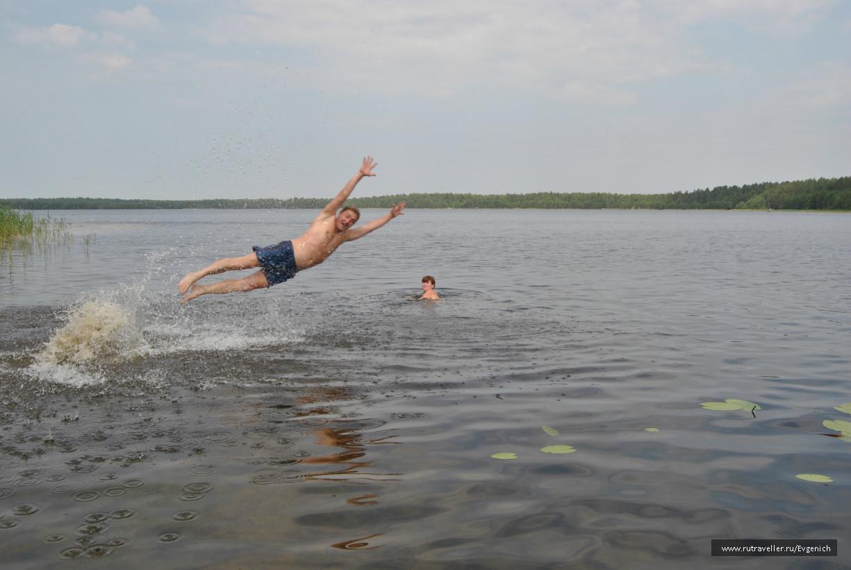 святое озеро(прелести лета)