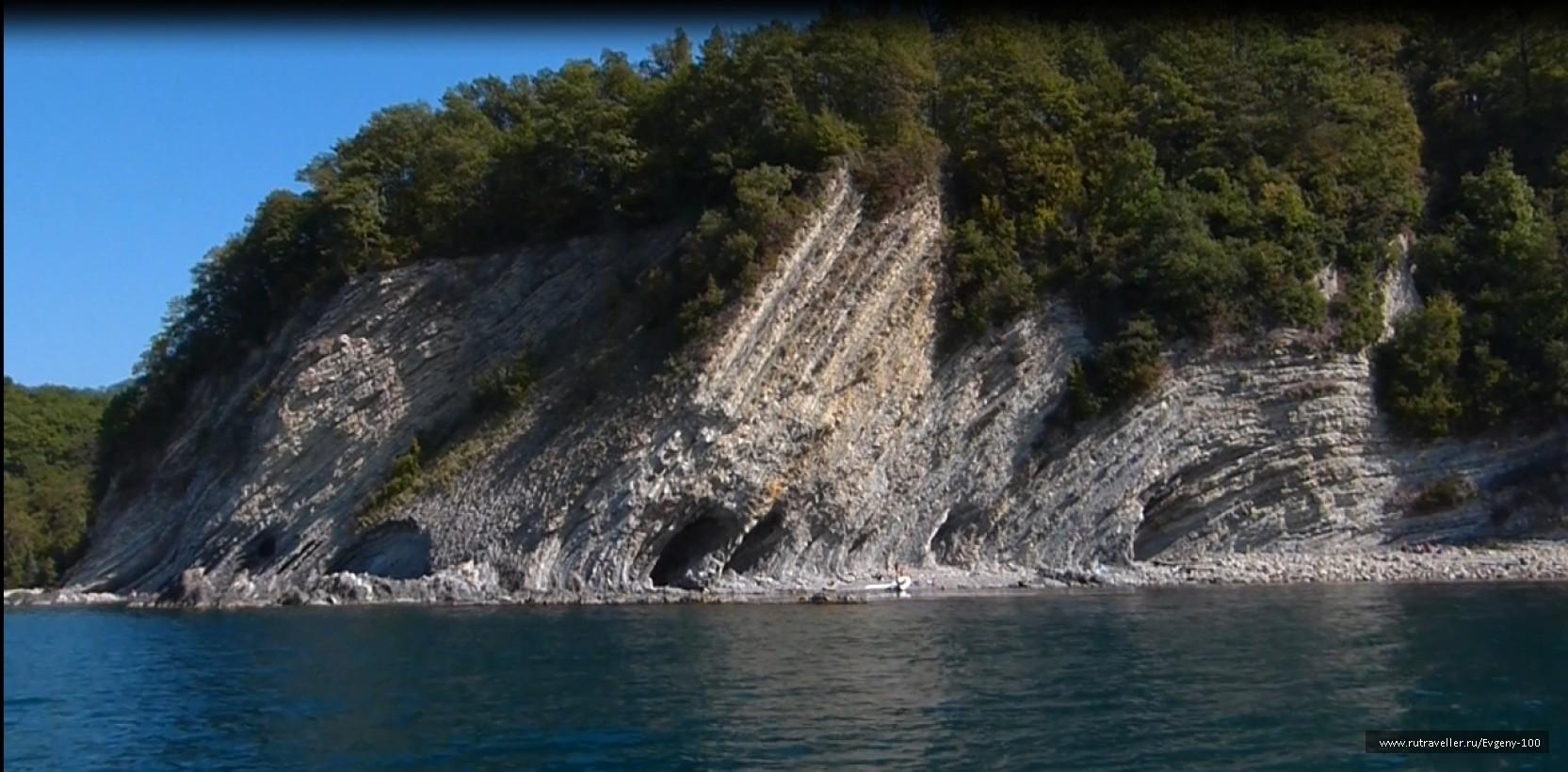скала мышинные норы Агой-Туапсе