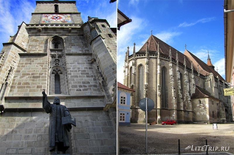 Румыния. Черная церковь в Брашове.